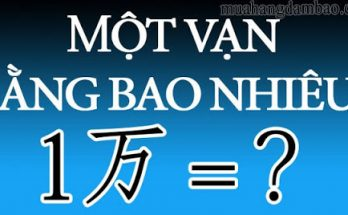 Vạn là từ Hán Việt