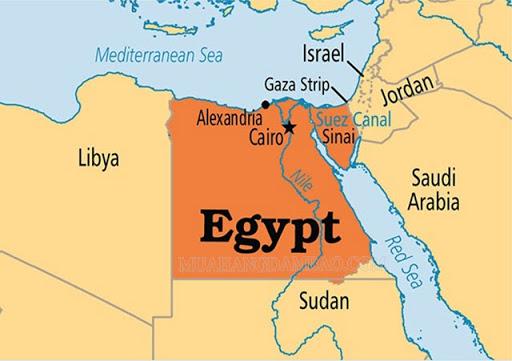 Bản đồ đát nước Ai Cập
