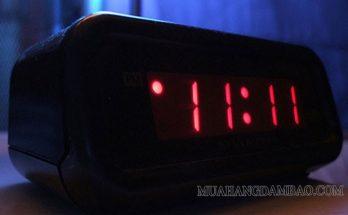 11:11 (hệ 12 giờ) là khoảnh khắc duy nhất trong ngày cả 4 số đều là số 1
