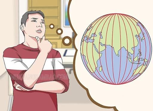 Nắm vững khái niệm vĩ độ là gì, kinh độ là gì thì mới có thể viết đúng và chính xác vị trí địa lý