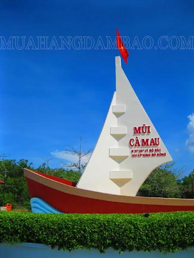 Kinh độ vĩ độ của Việt Nam: mũi Cà Mau - điểm cực Nam của Tổ quốc
