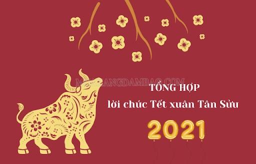 Lời chúc Tết giao thừa xuân Tân Sửu ý nghĩa 2021