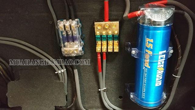 Ứng dụng của tụ điện trong hệ thống âm thanh xe hơi