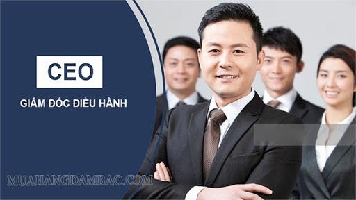 CEO là giám đốc điều hành