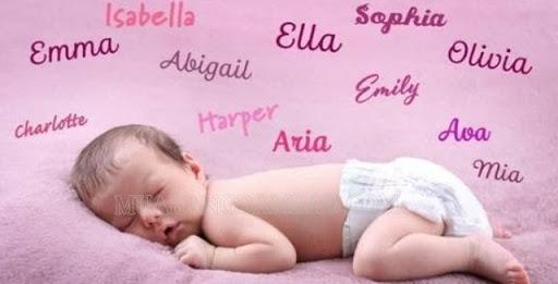 Đặt tên con ở nhà cho bé gái