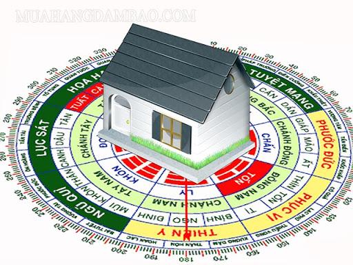 Hướng nhà có thể lựa chọn nhiều hướng khác nhau.