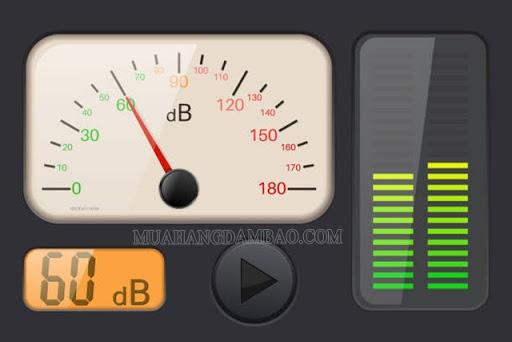 Decibel (dB) là đơn vị đo cường độ âm thanh