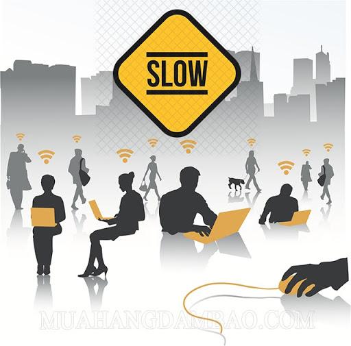 càng nhiều người sử dụng thì tốc độ mạng càng chậm
