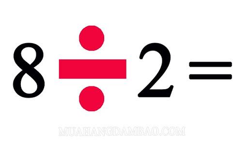 8 là bội số của 2