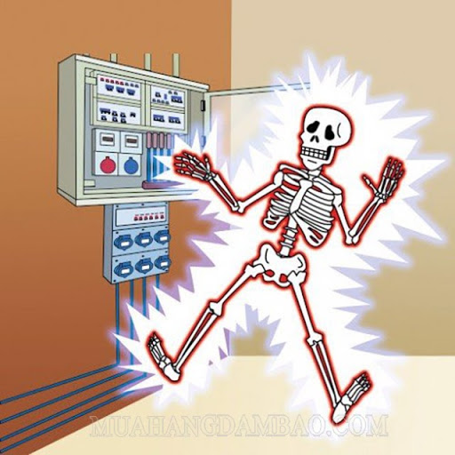 Tiếp xúc với nguồn điện mạnh có thể gây chết người