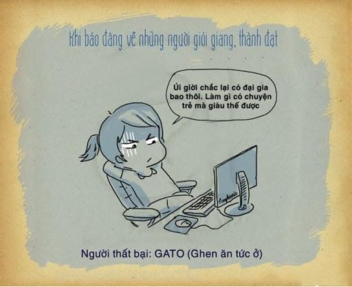 Định nghĩa chân thực nhất về người hay Gato