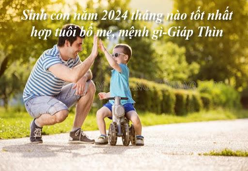 Năm 2024 tuổi nào nên sinh con?