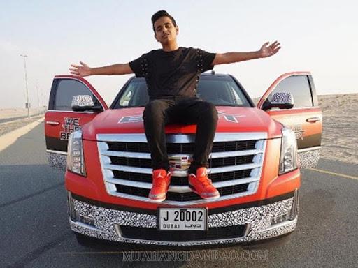 Rashed Saif Belhasa là Rich kid Dubai nổi tiếng