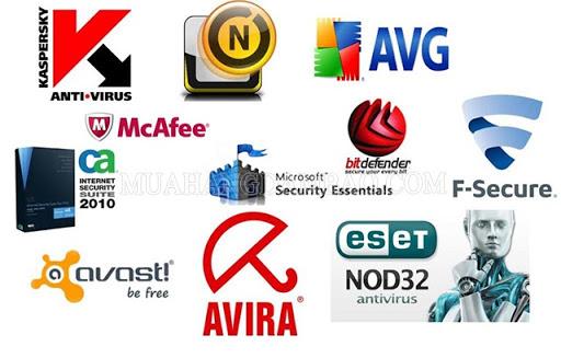 Phần mềm diệt vi rút hiện nay
