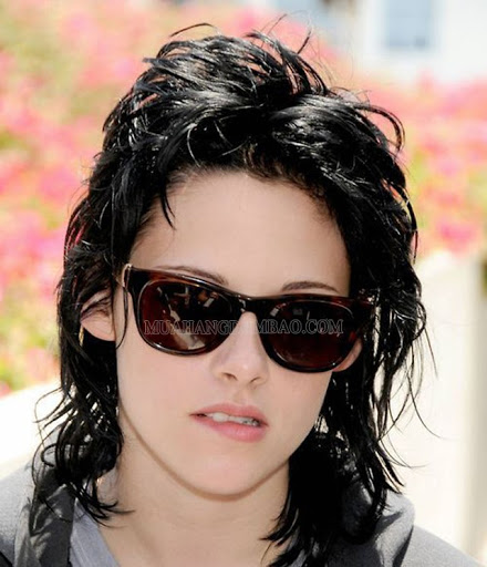 Kiểu tóc mullet của nữ diễn viên Kristen Stewart.