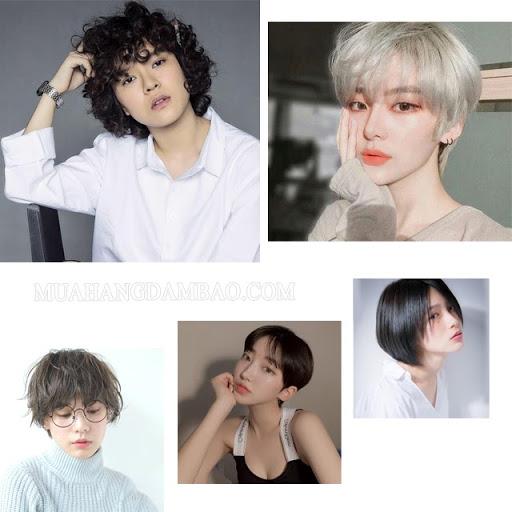 Các kiểu tóc tomboy hot hit năm 2021
