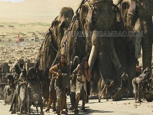 Cuộc sống của con người trước Công nguyên được tái dựng qua phim.