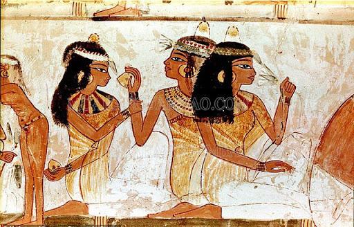 Phụ nữ Ai Cập thời kì cổ đại.