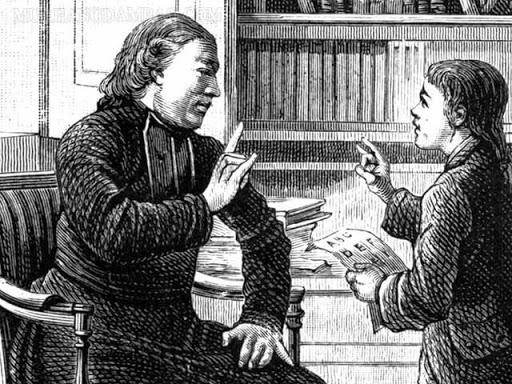 Charles Michèle de l'Epée sáng tạo bộ ký hiệu dành cho người khiếm thính