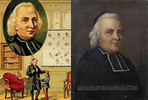 Charles Michèle de l'Epée cha đẻ của người khiếm thính