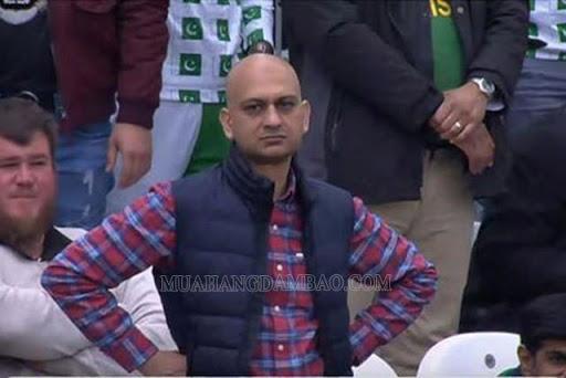 Gương mặt siêu biểu cảm của Mohammad Akhtar
