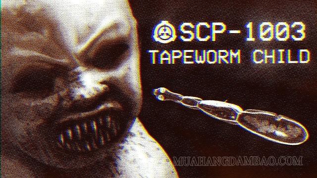 SCP 1003 là loài sán dây nguy hiểm cấp độ cao