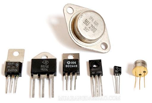Transistor làm công tắc trong các mạch số