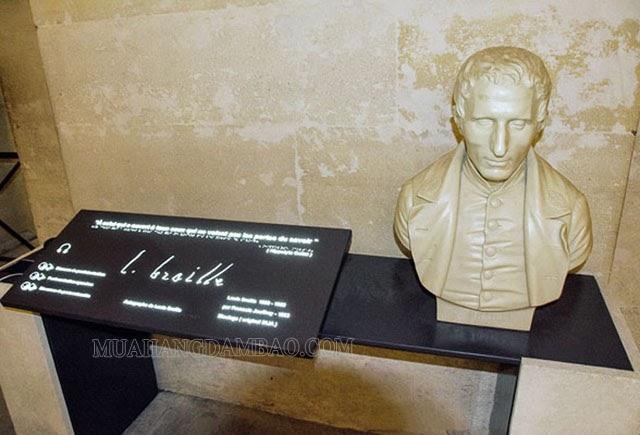 Louis Braille yên nghỉ tại điện Panthéon danh giá