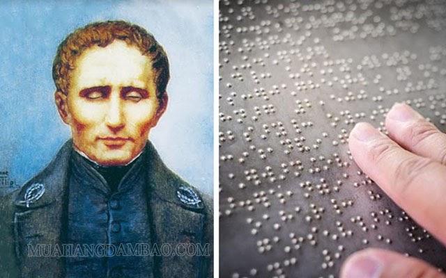 Louis Braille sáng tạo chữ viết dành riêng cho người khiếm thị