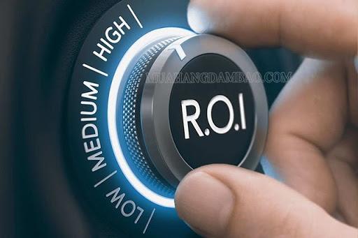 Chỉ số ROI lý tưởng cho doanh nghiệp là 5:1