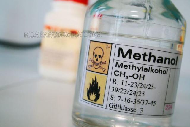 Methanol độc hại có thể gây tử vong