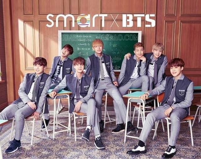 Concept đồng phục học sinh của BTS