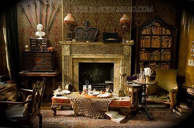 Concept thiết kế nội thất theo phong cách Gothic