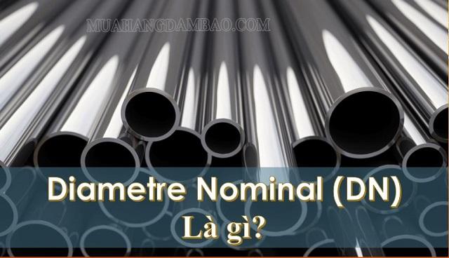 DN là đường kính trong ống theo tiêu chuẩn Bắc Mỹ