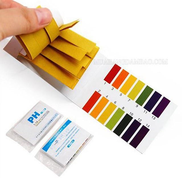 Kiểm tra độ pH bằng giấy thử