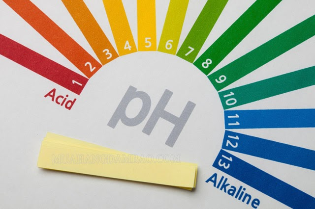 Độ pH xác định tính axit và bazơ của dung dịch