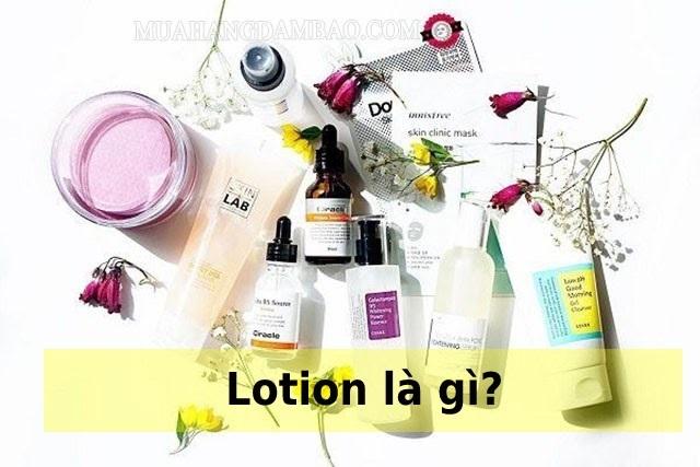Lotion là sản phẩm chăm sóc da hằng ngày