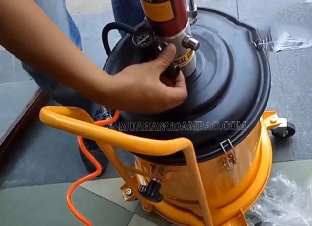 Vệ sinh máy sạch sẽ sau mỗi lần sử dụng