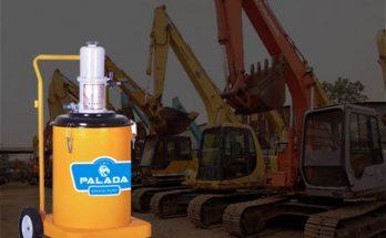 Máy bơm mỡ Palada có hiệu suất làm việc cao
