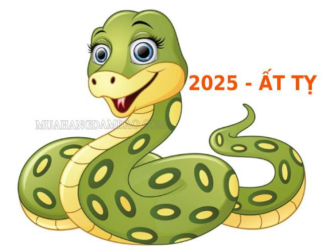 Năm 2025 tuổi Ất Tỵ, con Rắn