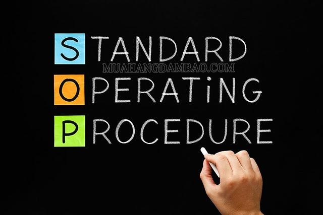 SOP là quy trình thao tác chuẩn