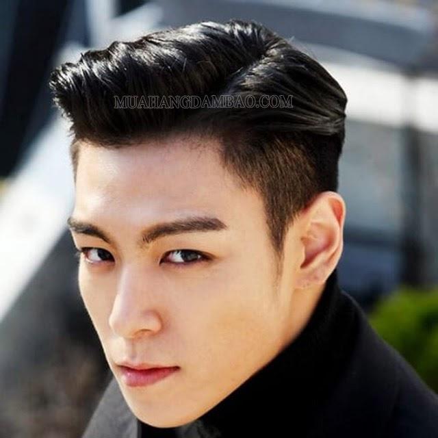 Kiểu tóc side part ngắn trẻ trung