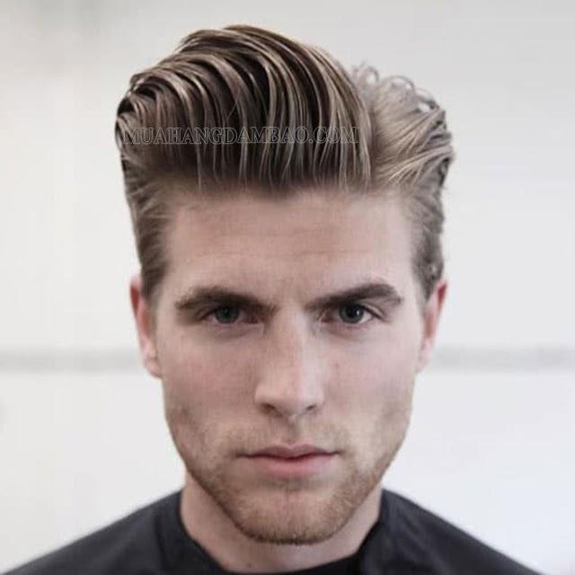 Kiểu tóc side part Pompadour mới lạ