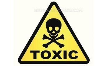 Toxic có nghĩa là có hại, độc hại