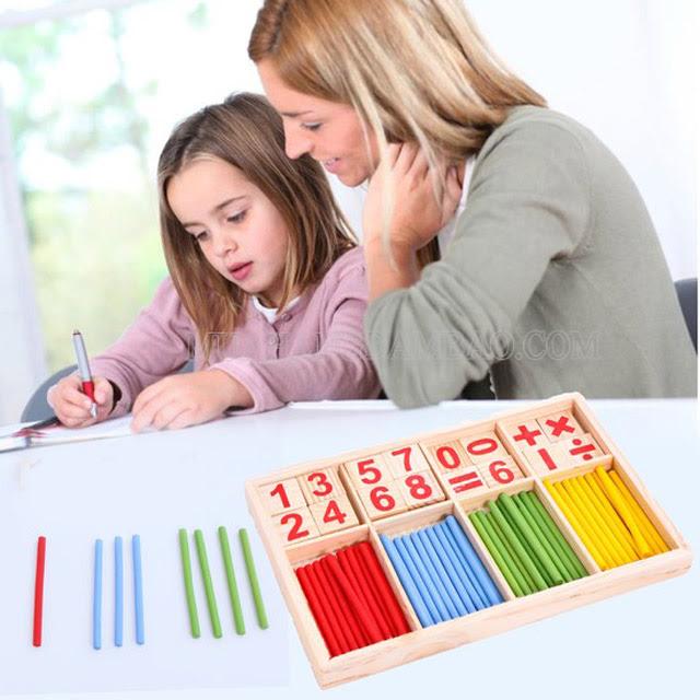 Hướng dẫn bé từ những phép toán đơn giản trước tiên