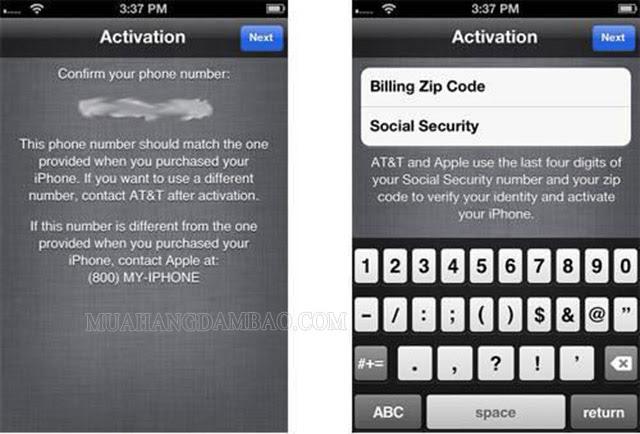 Mã zip iPhone là tính năng riêng của hãng Apple