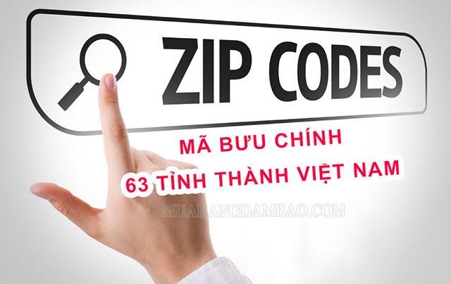 Tra cứu mã zip trực tuyến