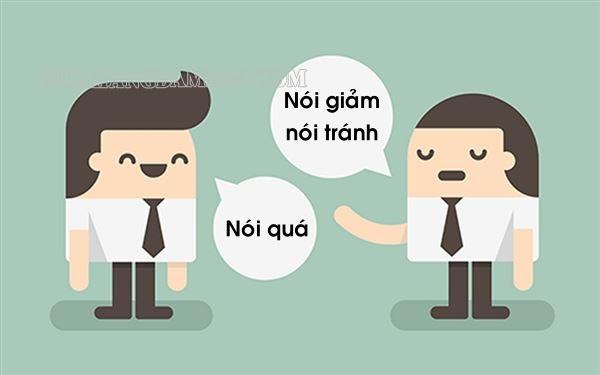 Nói quá và nói giảm nói tránh khác nhau như thế nào?