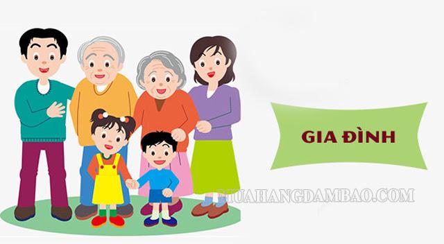 Từ Hán Việt về gia đình xuất hiện nhiều trong hệ thống từ ngữ
