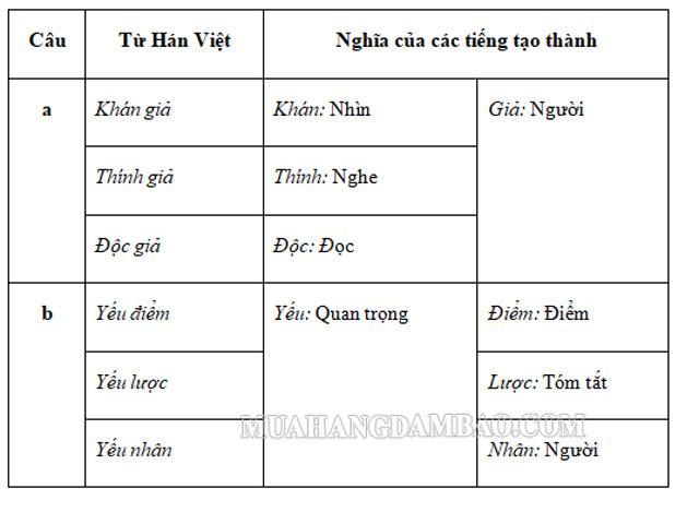 Từ mượn Hán Việt